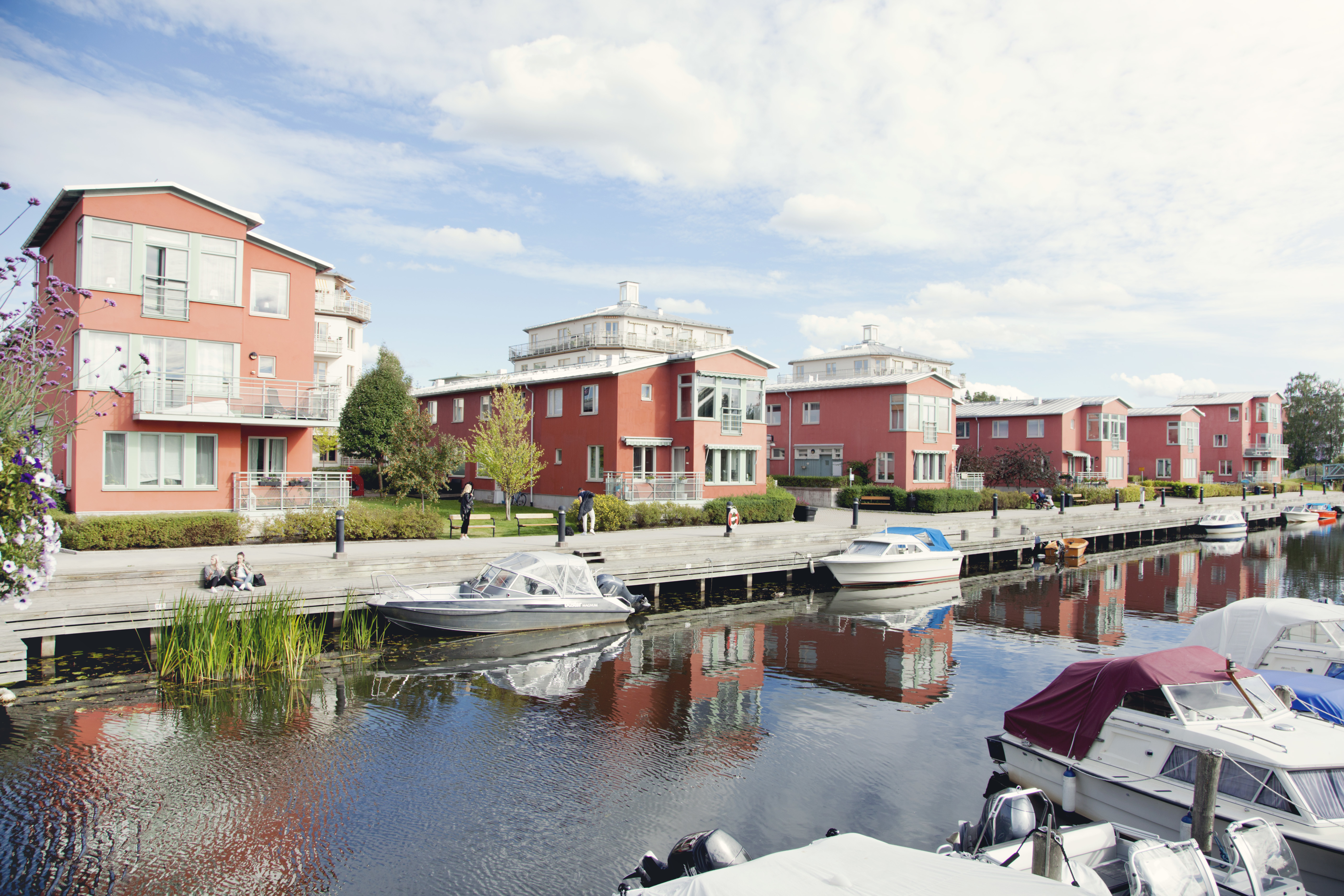 Skonaren vid Åkers Kanal