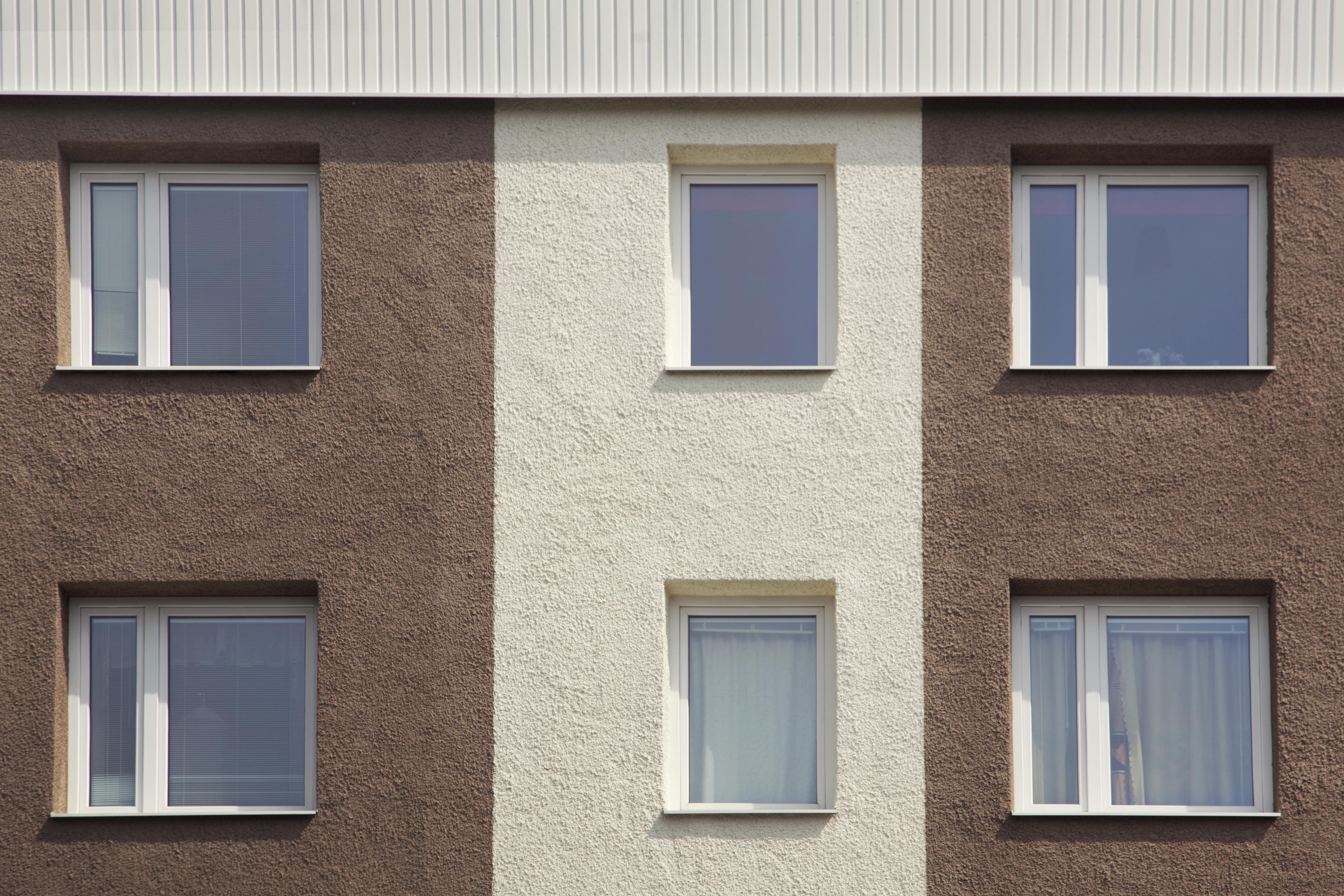Bergavägen 1-5, fasad