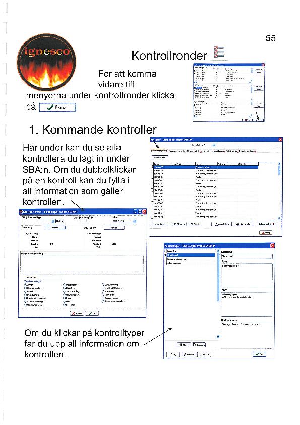 Be4fire kontrollronder info